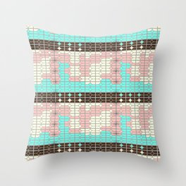 desert modernism Throw Pillow