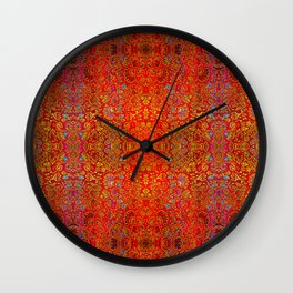 Abstract sparkle beautiful samples Wall Clock