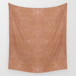 Beige canvas cloth texture abstract Wall Tapestry