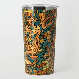 Vintage ornament Travel Mug