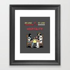 Hospitality! Framed Art Print