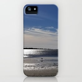 December breeze, Kure Beach iPhone Case