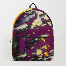 abstract drawing illustration graphic Backpack