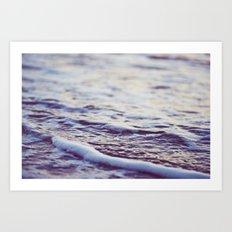 Morning Ocean Waves Art Print