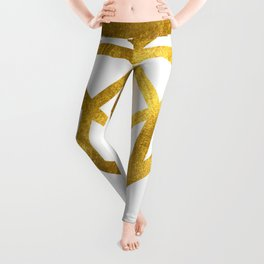 Gold Diamond Leggings