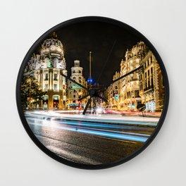 Gran Via (Madrid) Wall Clock