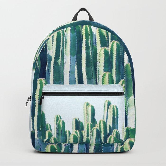 Cactus V2 #society6 #decor #fashion #tech #designerwear Backpack