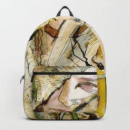 Golden Collar Backpack