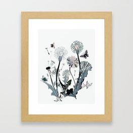 flowers spring Framed Art Print