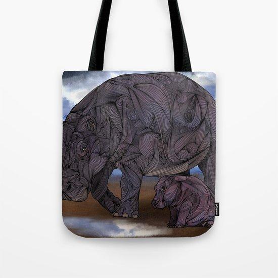 Hippos Tote Bag
