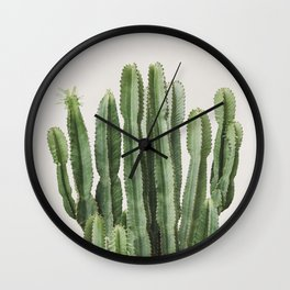 Cactus Bunch Wall Clock