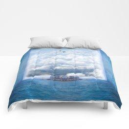 Sky Pier Comforters