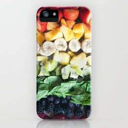 Rainbow Fruit iPhone Case