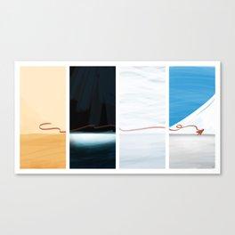 (the) Journey  Canvas Print