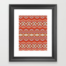 triangle X square Framed Art Print