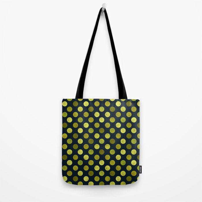 Watercolor Dots Pattern V Tote Bag