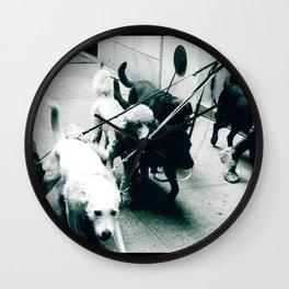 Dog Walker NYC  Wall Clock