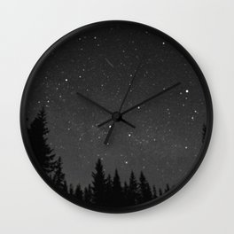 a speck of dust Wall Clock
