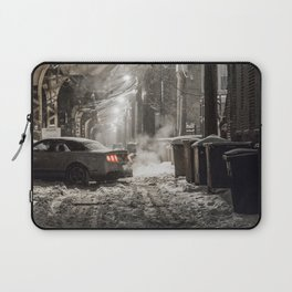 A Chicago Snow Filled Winter; Try Parking Laptop Sleeve