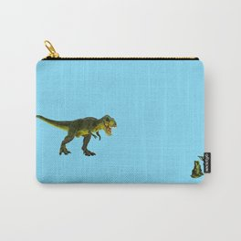 Dinosaurs vs Toy Soldiers Carry-All Pouch