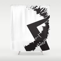 totes Shower Curtains featuring Totes by Laura Lee's Stuff