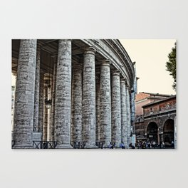Vatican City Marble Canvas Print