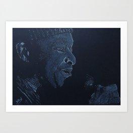 Al Jarreau Art Print