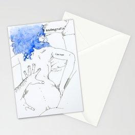 NUDEGRAFIA - 17  I am hope Stationery Cards