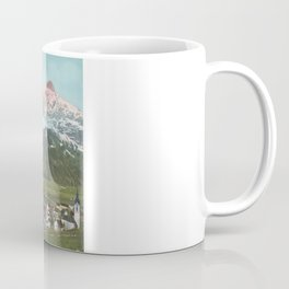 Vintage Swiss Mountains Coffee Mug