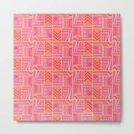 BP 74 Abstract Geo Metal Print