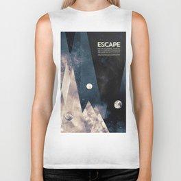 Escape, from planet earth Biker Tank