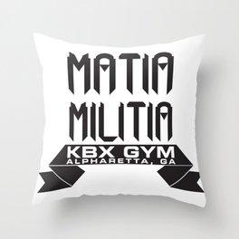 Matia Militia Throw Pillow