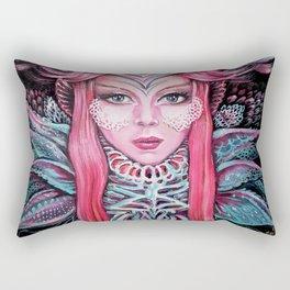 Queen of Flowers Rectangular Pillow