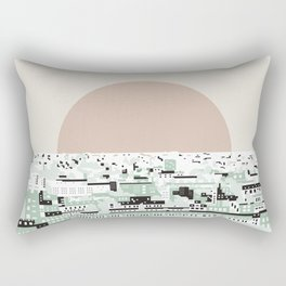 Rooftop view_2 Rectangular Pillow