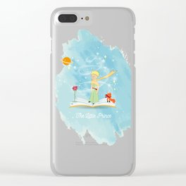 The Little Prince in the Fairy Tale Book Clear iPhone Case