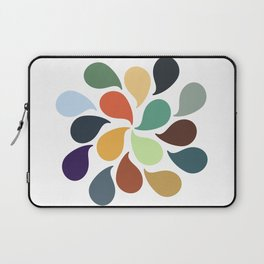 Colorful Water Drops Laptop Sleeve