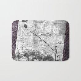 Lost - stripe graphic Bath Mat