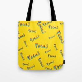 Just Focus Tote Bag