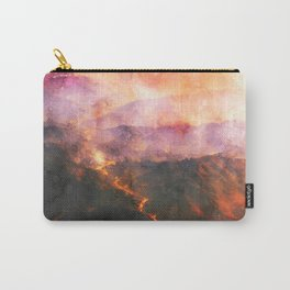volcanoes, magma, lava, mountains Carry-All Pouch