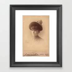 Can't be Bothered by Brandy & Bees Framed Art Print