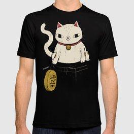 actual lucky cat T-shirt