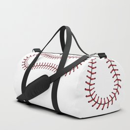 Baseball Lace Background Duffle Bag