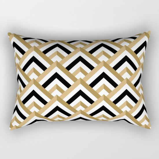 hill pattern Rectangular Pillow