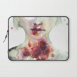 keeping inside this wild flowering Laptop Sleeve