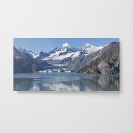 John Hopkins Glacier Metal Print