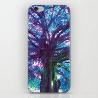 arya iPhone & iPod Skins featuring Arya - The Tree of Life by earthspiritartdesign