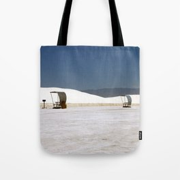 Picknick At White Sands Tote Bag