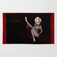 ahs Area & Throw Rugs featuring The Countess by IGGY PROOF