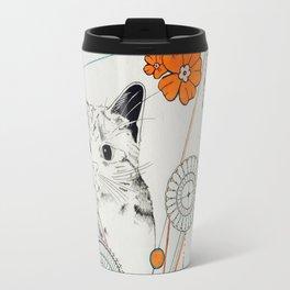 Cat Scammer Travel Mug