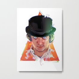 ClockworkOrange Metal Print